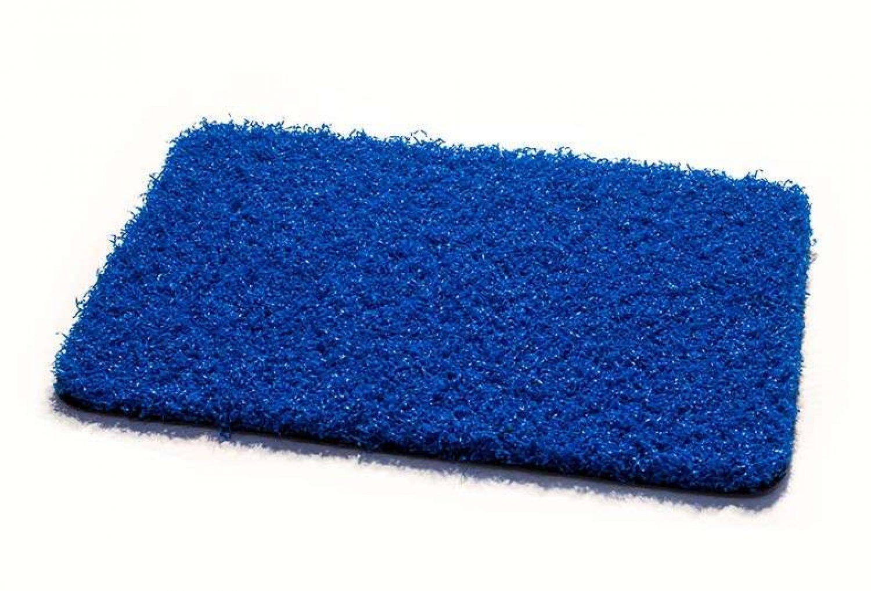csped artificial acondicionamiento espacios azul