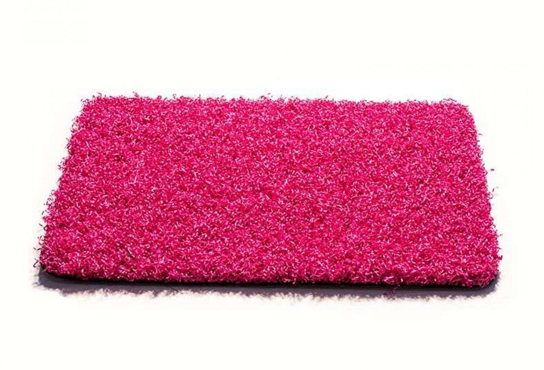 csped artificial acondicionamiento espacios rosa